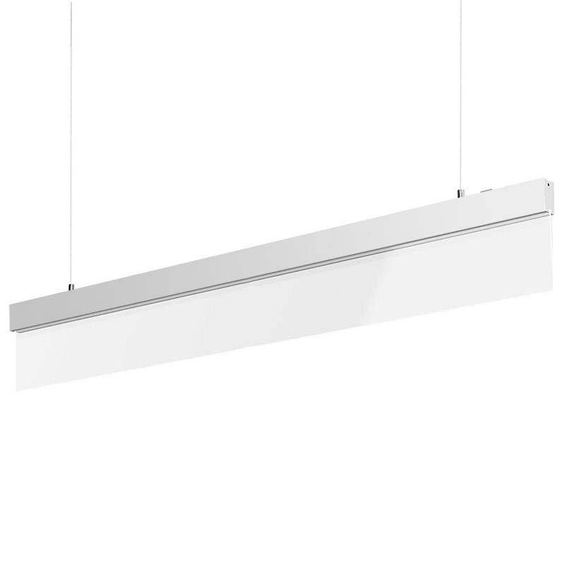 Lámpara LED Metacrilato PROLUX suspend, 30W, 120cm, Blanco cálido